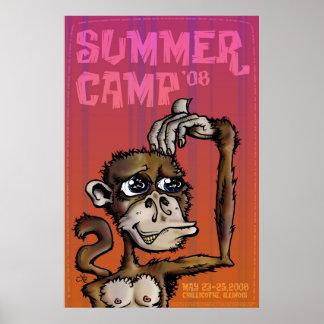 CampMonkey-08-prt-flt Posters