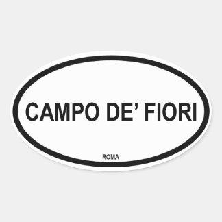 CAMPO DE' FIORI OVAL STICKER