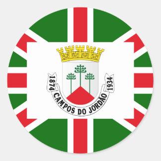 Camposdo Jordao, Brazil Classic Round Sticker