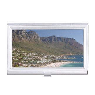 Camps Bay Beach And Twelve Apostles Case For Business Cards