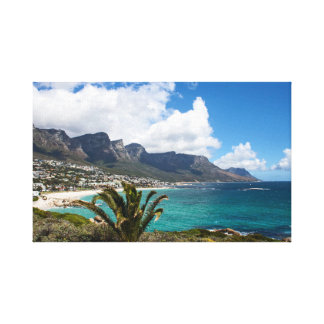 Camps Bay, South Africa Canvas Print