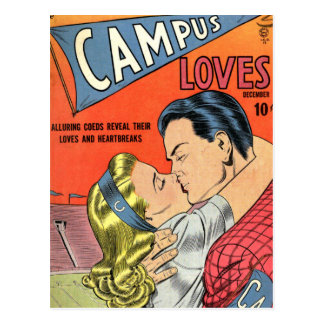 Campus Love Postcard