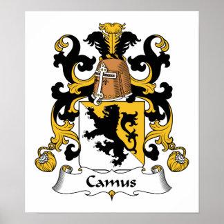Camus Family Crest Poster