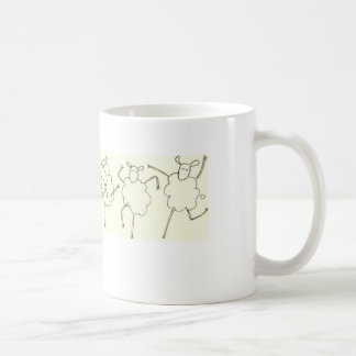 Can-Can Sheep Coffee Mug