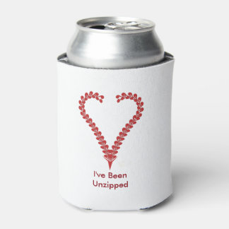 """Can Cooler """"I've Been Unzipped"""""""