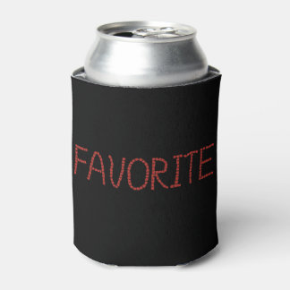 Can cooler with 'favorite'