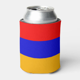Can Cooler with flag of Armenia