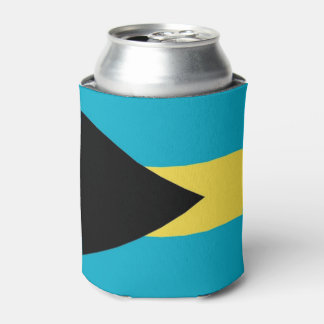Can Cooler with flag of Bahamas