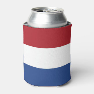 Can Cooler with flag of Netherlands