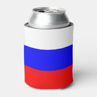 Can Cooler with flag of Russia