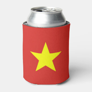 Can Cooler with flag of Vietnam