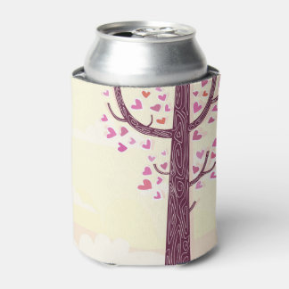 Can cooler with Love tree