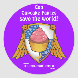 Can Cupcake Fairies save the world? - Sticker