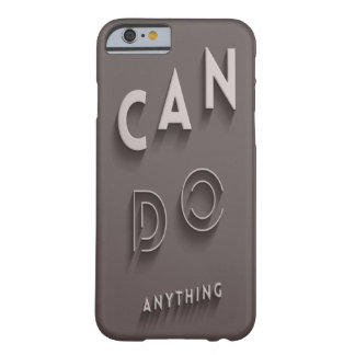 can do anything barely there iPhone 6 case