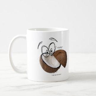 Can go coconuts coffee mug