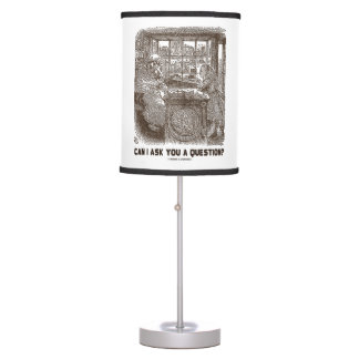 Can I Ask You A Question? Alice Sheep Wonderland Table Lamp