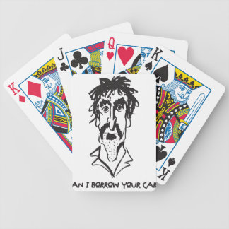Can I Borrow Your Car Bicycle Playing Cards