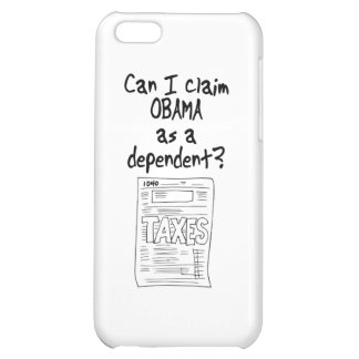 Can I claim OBAMA as a Dependent Cover For iPhone 5C