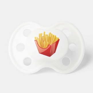 Can I Get Fries With That Please? Baby Pacifier