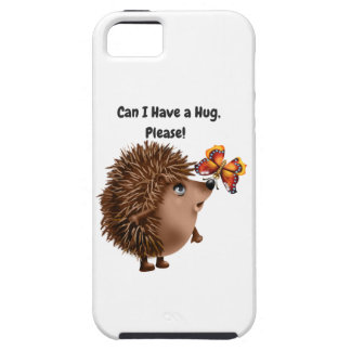 Can I Have a Hug Hedgehog Butterfly Friendship iPhone 5 Covers