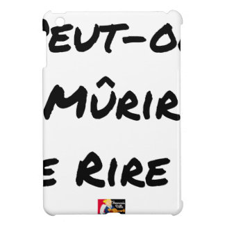 CAN IT MATURE OF LAUGHING? - Word games iPad Mini Cover
