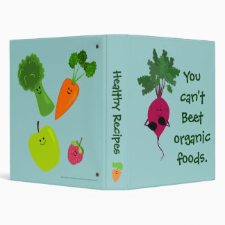 Can t Beet Organic Recipe Binder