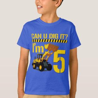 Can U Dig It? I'm 5 T-Shirt