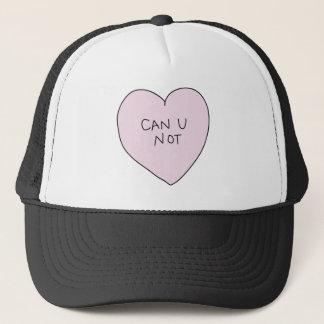 Can U Not Heart Trucker Hat