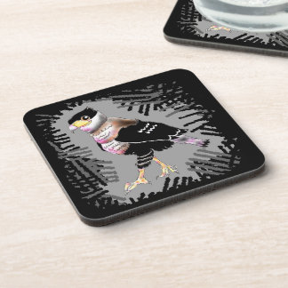 Can unreasonable caracara beverage coaster