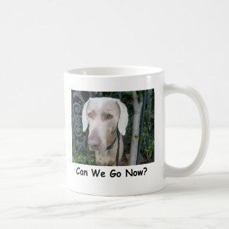 Can We Go Now? Coffee Mug