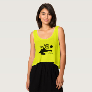 Can you dig it? Crop Tank