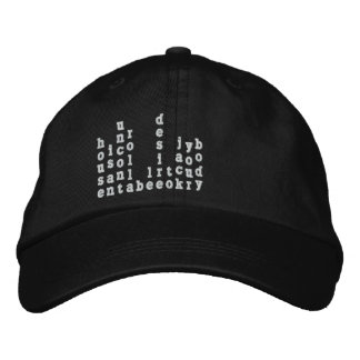 Can You Feel It Embroidered Hat