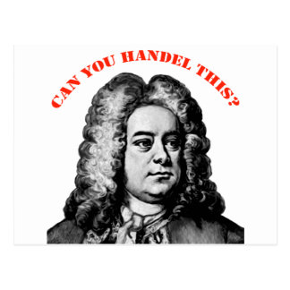 Can You Handel This Postcard