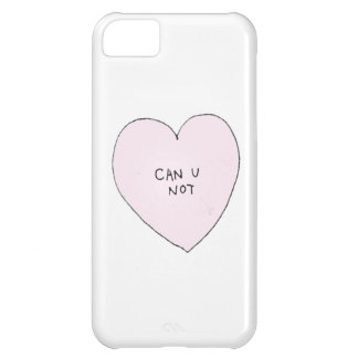 Can you Not: Brandy Melville Inspired Cover For iPhone 5C