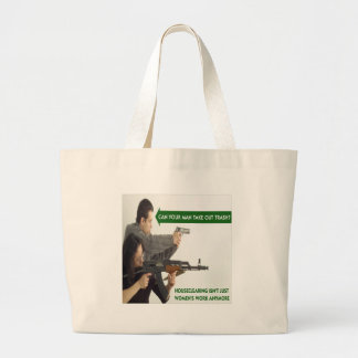 Can YOUR Man Take Out The Trash? Canvas Bag