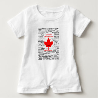 Canada150 Baby Romper