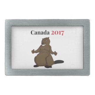Canada 150 in 2017 Beaver Belt Buckles