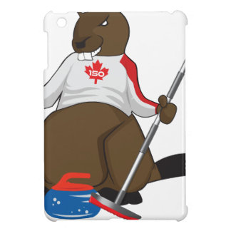 Canada 150 in 2017 Beaver Curling Main Cover For The iPad Mini