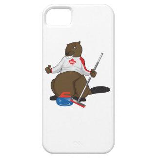 Canada 150 in 2017 Beaver Curling Main iPhone 5 Case