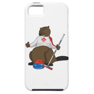 Canada 150 in 2017 Beaver Curling Main iPhone 5 Covers