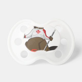 Canada 150 in 2017 Beaver Curling Main Pacifier