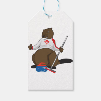 Canada 150 in 2017 Beaver Curling Main Pack Of Gift Tags