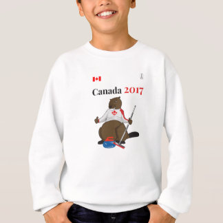Canada 150 in 2017 Beaver Curling Main Sweatshirt
