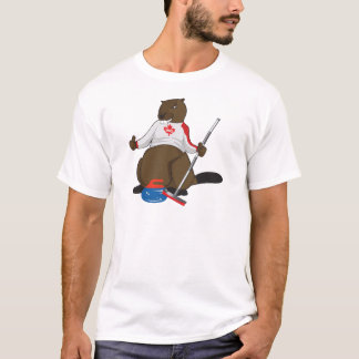 Canada 150 in 2017 Beaver Curling Main T-Shirt