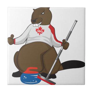 Canada 150 in 2017 Beaver Curling Main Tile