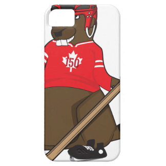 Canada 150 in 2017 Beaver Hockey Case For The iPhone 5
