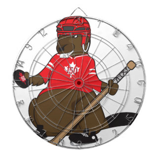 Canada 150 in 2017 Beaver Hockey Dartboard