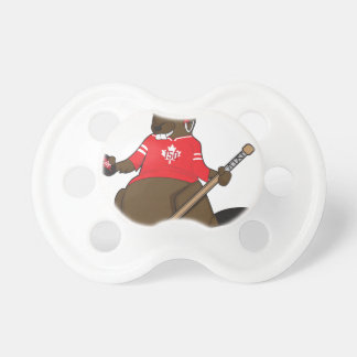 Canada 150 in 2017 Beaver Hockey Pacifier