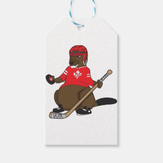 Canada 150 in 2017 Beaver Hockey Pack Of Gift Tags
