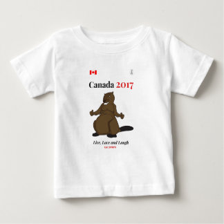 Canada 150 in 2017 Beaver Live Baby T-Shirt